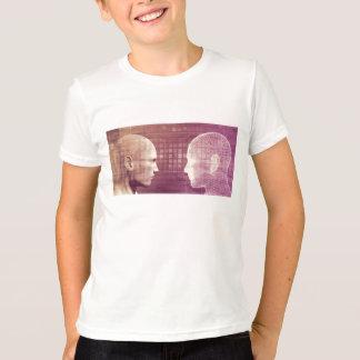 抽象的な背景の概念として医学の倫理 Tシャツ