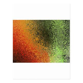 抽象的な背景 ポストカード