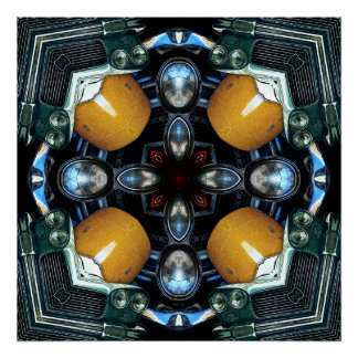抽象的な自動アートワーク1 ポスター