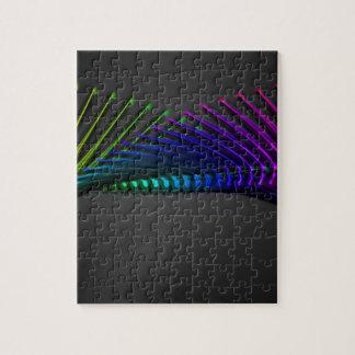 抽象的な色のデザインの芸術 ジグソーパズル