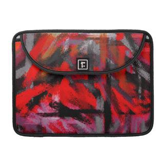 抽象的な色の絵筆の打撃#5 MacBook PROスリーブ