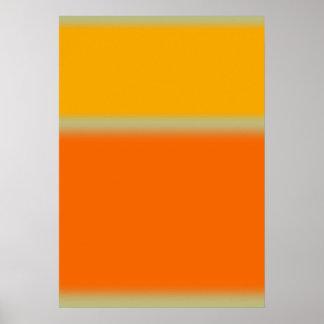抽象的な色 ポスター