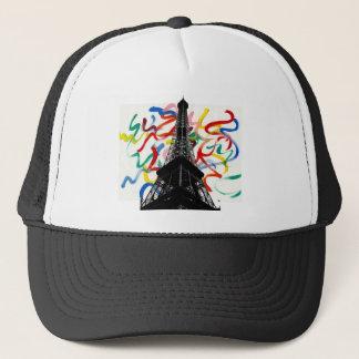 抽象的な芸術エッフェルタワーの帽子 キャップ