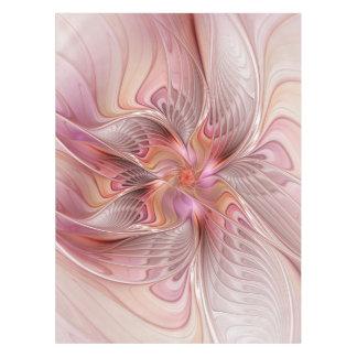 抽象的な蝶カラフルなファンタジーのフラクタルの芸術 テーブルクロス