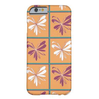 抽象的な蝶デザイン BARELY THERE iPhone 6 ケース