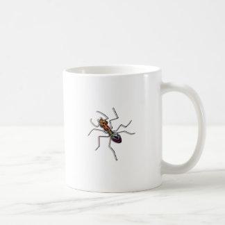 抽象的な蟻 コーヒーマグカップ