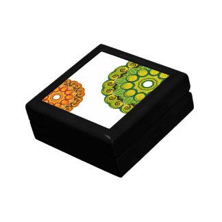抽象的な装飾のギフト用の箱 ギフトボックス
