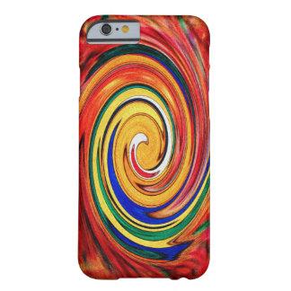 抽象的な設計マヤTOUCAN渦巻 BARELY THERE iPhone 6 ケース
