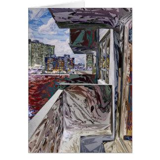 抽象的な都市構造 カード