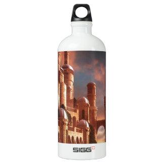 抽象的な都市海の石 ウォーターボトル