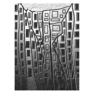 抽象的な都市 テーブルクロス