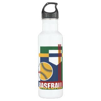 抽象的な野球 ウォーターボトル
