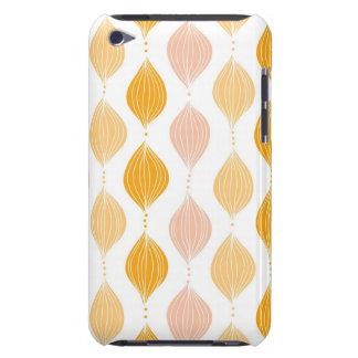抽象的な金ogeeパターン背景 Case-Mate iPod touch ケース