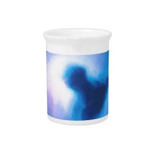 抽象的な銀河の星雲no3 ピッチャー