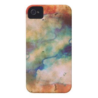 抽象的な銀河系によって大理石模様にされる芸術 Case-Mate iPhone 4 ケース