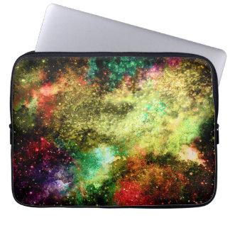 抽象的な銀河系のラップトップスリーブ ラップトップスリーブ
