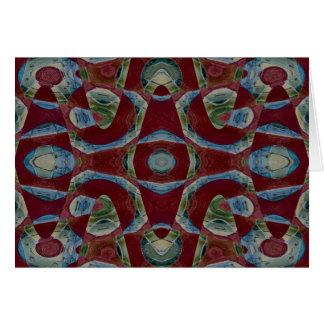 抽象的な錯覚 カード