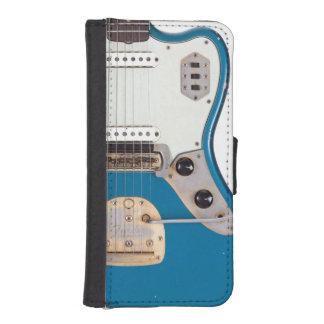 抽象的な電気エア・ギターの英雄のミュージシャンバンド iPhoneSE/5/5sウォレットケース