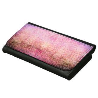 抽象的な革財布のカッコいいのグランジなヴィンテージの芸術