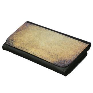 抽象的な革財布のRetoのグランジなヴィンテージ