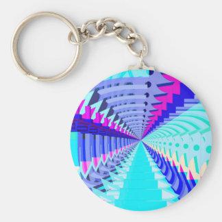 抽象的な3D形: キーホルダー
