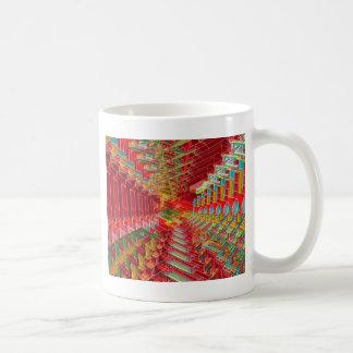 抽象的な3D形 コーヒーマグカップ