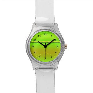 抽象的な(昆虫)オオカバマダラ、モナークのChrysalisのデザイン 腕時計