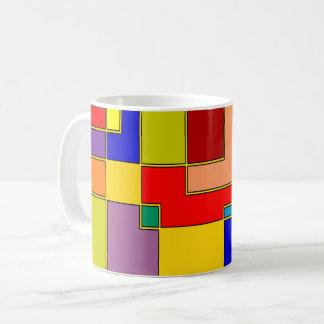 抽象的な#26 コーヒーマグカップ