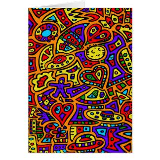 抽象的な#416 カード