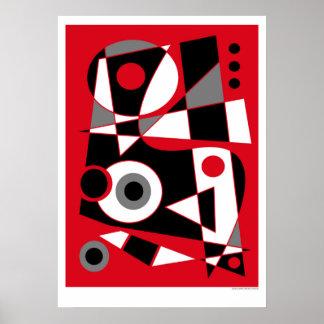 抽象的な#505 ポスター