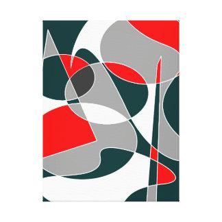 抽象的な#76 キャンバスプリント