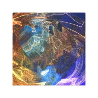 抽象的なdizain キャンバスプリント