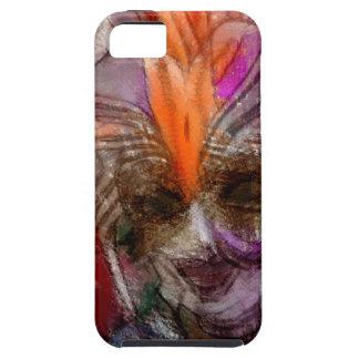 抽象的なFestival Inspired女性iPhone 5の場合 iPhone SE/5/5s ケース