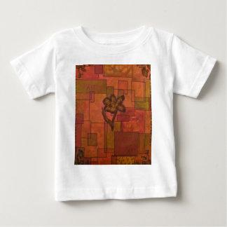 抽象的なflowers.jpg ベビーTシャツ