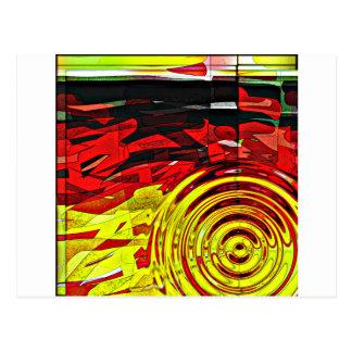 抽象的概念の心 ポストカード