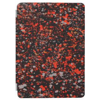 抽象的概念の継ぎ目が無い点は赤い黒いおよび灰色を軽く押えます iPad AIR カバー