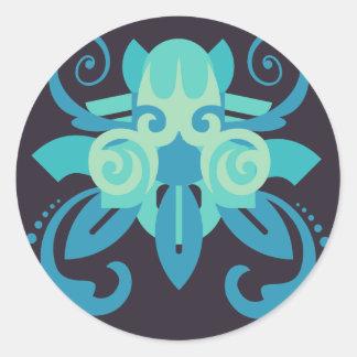 抽象的概念2 Poseidon ラウンドシール