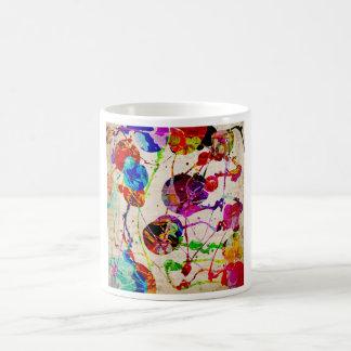 抽象的表現主義2 コーヒーマグカップ