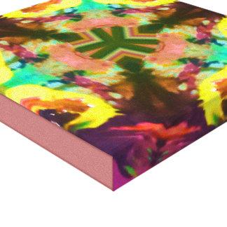 抽象美術のデザインのキャンバス キャンバスプリント
