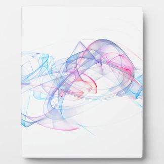 抽象美術のデザイン フォトプラーク