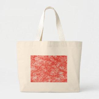 抽象美術のデジタル赤い花色、形St ラージトートバッグ