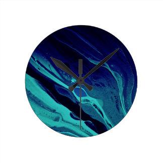 """""""""""抽象美術の時計の下で ラウンド壁時計"""