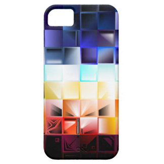 抽象美術の正方形 iPhone SE/5/5s ケース