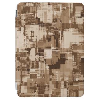 抽象美術の灰色パターン iPad AIR カバー