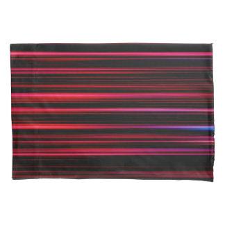 抽象美術の紫色の管 枕カバー