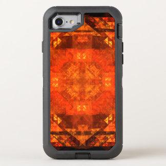 抽象美術の賛美 オッターボックスディフェンダーiPhone 7 ケース
