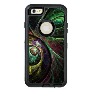 抽象美術を注目する目 オッターボックスディフェンダーiPhoneケース