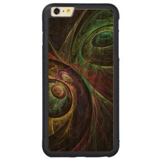 抽象美術を注目する目 CarvedチェリーiPhone 6 PLUSバンパーケース