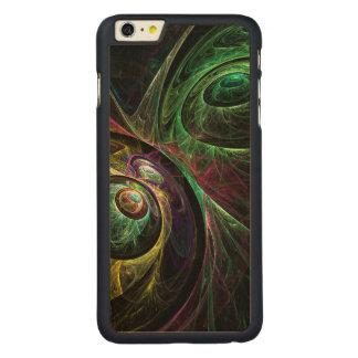 抽象美術を注目する目 CarvedメープルiPhone 6 PLUS スリムケース