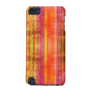 抽象美術パターンipod touchの箱を縞で飾ります iPod touch 5G ケース